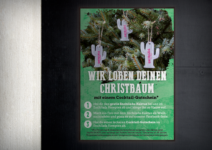 Poster Weihnachtsaktion