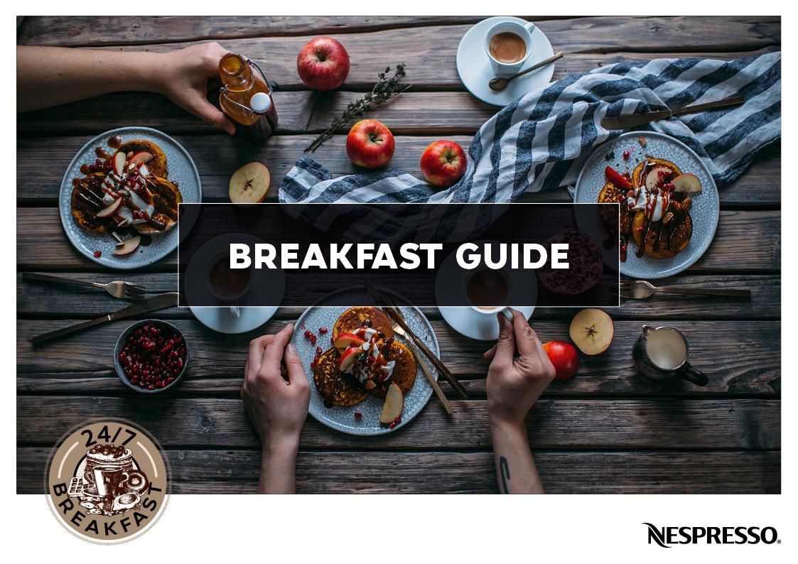 Referenz Print Design Breakfast Guide