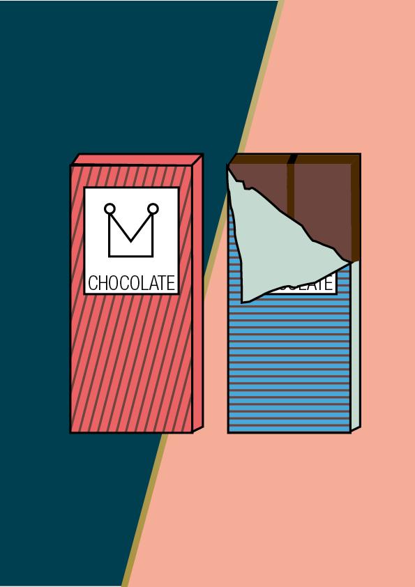 Referenz Schokolade